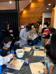 イベント報告 『漆喰職人のお仕事体験』 1月23日(土)